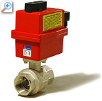 2/2 way ball valve with electric actuator 2500-ro