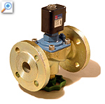 2/2 way solenoid valve with lift-assisted diaphragm 27