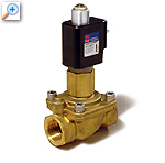 2/2 way solenoid valve with lift-assisted diaphragm 43