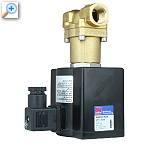 2/2 way solenoid valve with lift-assisted piston 85720_84983