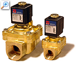 2/2 way solenoid valve with lift-assisted diaphragm al24