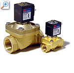 2/2 way solenoid valve with lift-assisted diaphragm l153
